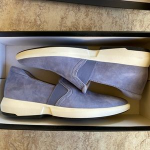 27 Edit Sky Blue Suede Loafers 7M